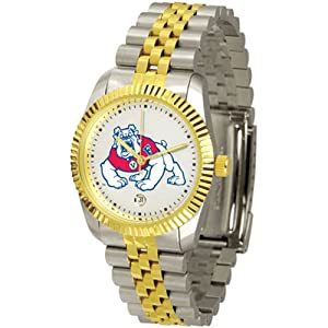 Fresno State Bulldogs NCAA Executive Mens Watch by SunTime