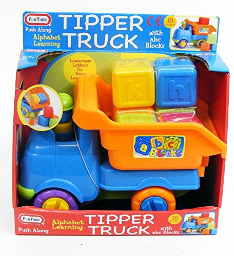 Funtime Tipper Truck with Abc Blocks