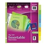 Avery  Big Tab Insertable Plastic Div...