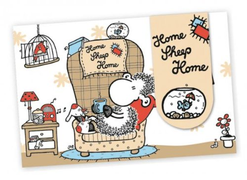 "Sheepworld Lesezeichen ""Home Sheep Home"" 24"
