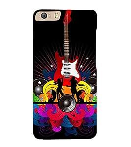 EPICCASE funky club Mobile Back Case Cover For Micromax Canvas Knight 2 E471 (Designer Case)