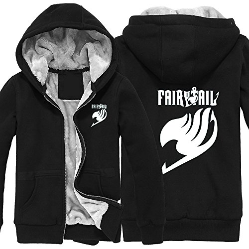 Onecos Fairy Tail Thicken Hoodies Xxl (Height 70-72In, Weight 160-180Lbs)