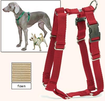 Sure-Fit Dog Harness, 5-Way Adjustability For A Perfect Fit! (Fawn, X-Petit) front-41640