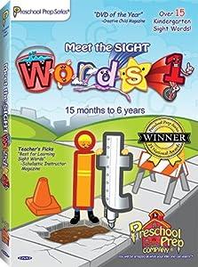 Meet The Sight Words 1 Dvd