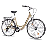 "28"" Zoll LUXUS ALU CITY BIKE DAMENRAD FAHRRAD CHRISSON RELAXIA"