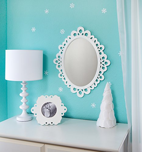 Decorative Bathroom Vanity Wall Mirrors : Heart wall mounted bathroom vanity mirrors oval decorative