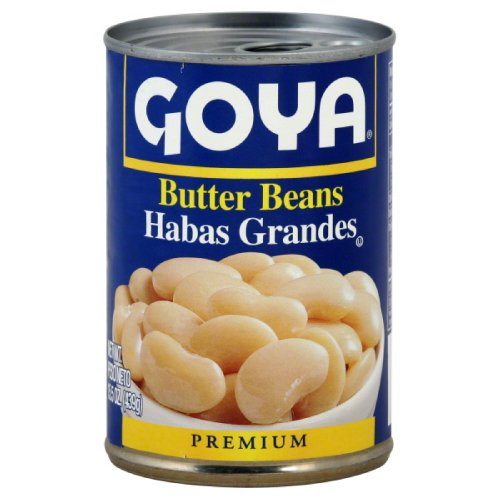 Goya Foods Inc Beans, Butter, 15.50-Ounce (Pack of 24) (Calcium Rich Foods compare prices)