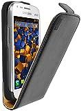 mumbi PREMIUM Leder Flip Case Samsung Galaxy S Duos / S Duos 2 Tasche Hülle