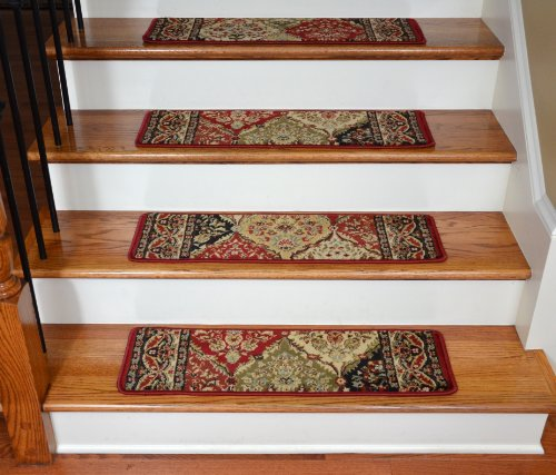 Dean Premium Carpet Stair Treads - Panel Kerman 31