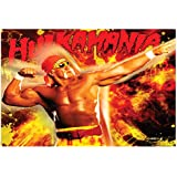 Pics And You WWE Hulk Hogan 6 Wall Poster (300gsm Art Paper, 12x18 Inches) - WPSP006