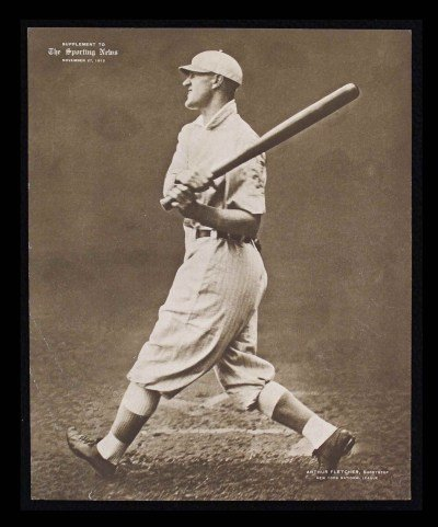 M101-2 Sporting News Supplements November 27 1913 Arthur Fletcher Giants (Card) # 99 Dean'S Cards 5 - Ex