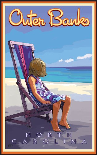 northwest-art-mall-outer-banks-girl-in-chair-at-the-beach-north-carolina-wall-art-by-joanne-kollman-