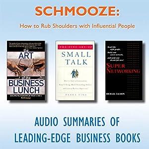 Schmooze Audiobook
