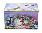Delta Kids - Caja de juguetes plegable de paño de lino (56,5 x 35,9 x 34,3 cm) Fairies Talla:número: 1 unidad