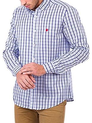 Polo Club Camisa Hombre Maverick Pure (Azul Celeste)