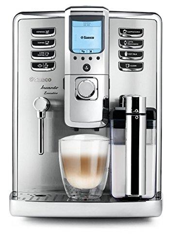 Saeco HD9712/01 Incanto Executive Kaffeevollautomat, integrierte Milchkaraffe, silber thumbnail