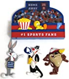 Looney Tunes #1 Sports Fan Refrigerator Magnets - Bugs Bunny, Taz, Sylveste ....