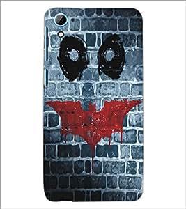 HTC DESIRE 826 SMILEYS Designer Back Cover Case By PRINTSWAG