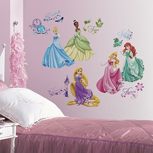 joy-toy-21990-disney-princesses-autocollant-mural-plastique-multicolore-50-x-50-x-1-cm