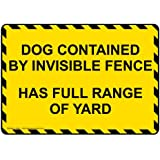 ComplianceSigns Aluminum Beware of Dog Sign, 10 x 7 in. with English, Yellow