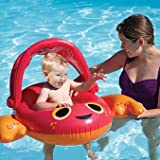 Sun Canopy Baby Boat Pool Toy Color: Pink