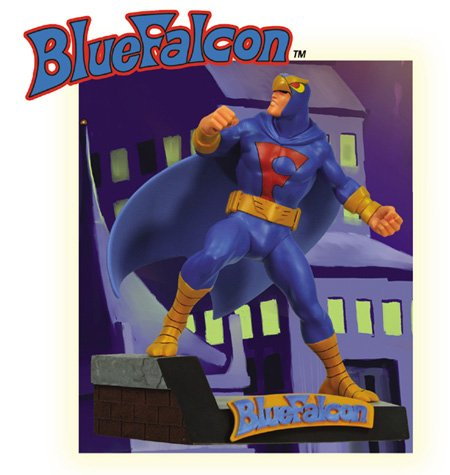 Buy Blue Falcon 12″ Maquette Figure Statue