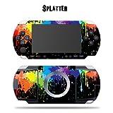 Protective Vinyl Skin Decal Cover Sticker for SONY PSP - Splatter