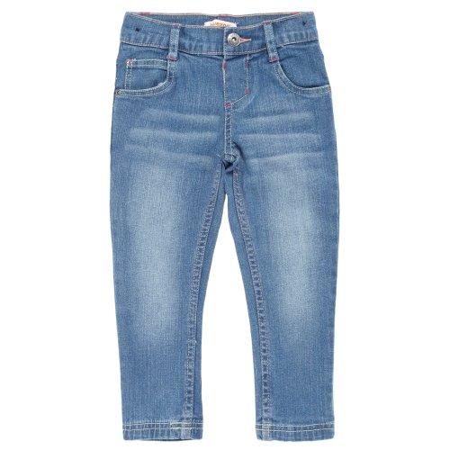 bluezoo Girl's Blue Stonewashed Skinny Jeans