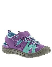 OshKosh Hava Girls' Infant-Toddler Sandal 8 M US Toddler Purple