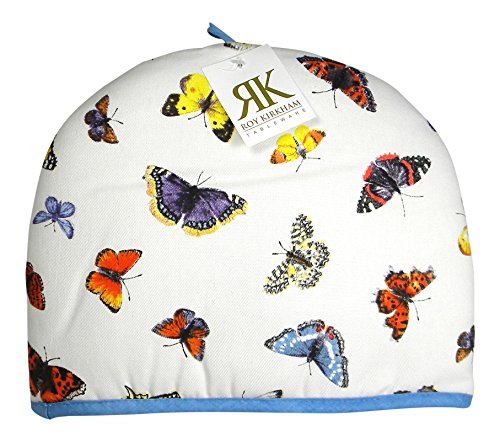 Roy Kirkham Butterfly Garden Cotton Tea Cosy England (Teapot Cosy compare prices)