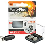 Alpine PartyPlug 2015 - Earplugs to enjoy Music, Concerts or Festivals, Free Miniboxx, Transparent