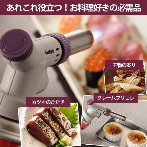 イワタニ カセットガス式トーチバーナー お料理バーナー・プロIII CB-TC-CPRO3
