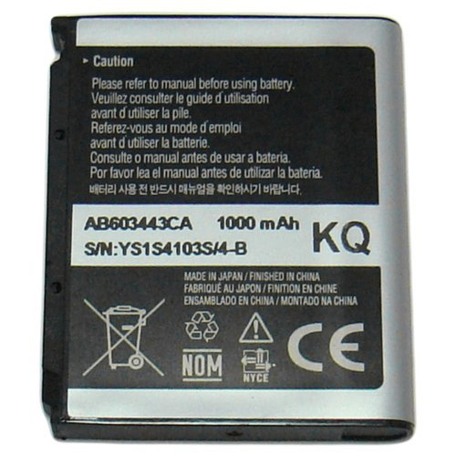 Samsung AB603443CA for SGH-T919 Behold SGH-A797 Flight SGH-T469 Gravity 2 SGH-A877 Impression SPH-M810 Instinct s30 SGH-A717 SGH-A727 SGH-T819 SGH-A887 Solstice SGH-A687 Strive (Solstice Ii Battery compare prices)