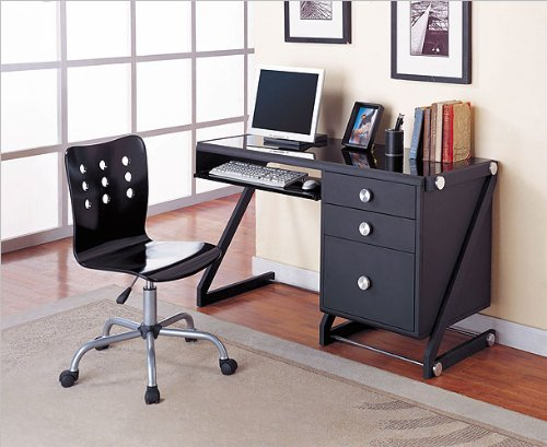Powell Furniture 354-238 Z Bedroom Computer Desk