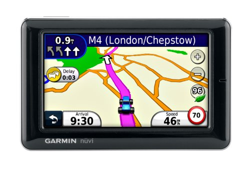 Garmin Nuvi 1690 Widescreen Sat Nav with Live Traffic & Services and UK & European Mapping