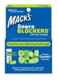 Macks Snore Blockers Soft Foam Earplugs, 12-Pair (Pack of 2)