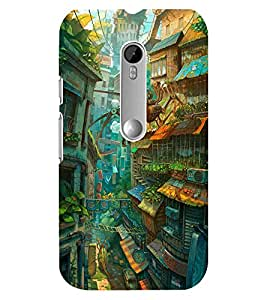 FIXED PRICE Printed Back Cover for Moto G3