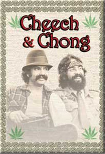 Licenses Products Cheech and Chong Bamboo Magnet