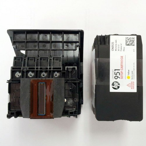 HP Officejet Pro 8620 8625 Printhead with Set up Cartridge (Hp Printer Head 8600 compare prices)