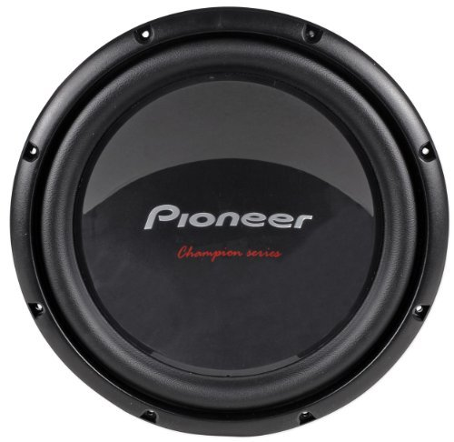 "Brand New Pioneer Champion Ts-W309D4 12"" 1400 Watt Peak / 400 Watt Rms Dual 4 Ohm Car Subwoofer With Large Double Stacked High Energy Magnets"