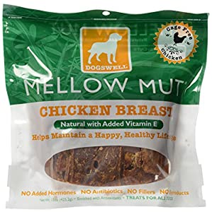 DOGSWELL 842351 Mellow Mut Chicken Treat for Pets, 15-Ounce