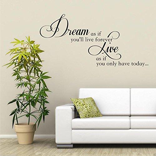dream-live-forever-adesivo-artistico-da-parete-salotto-trasferello-a-stencil-da-paretedecalcomania-c