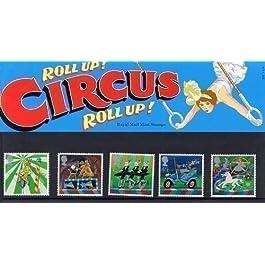 Estampillas de Circo 2002 en Paquete de Presentación