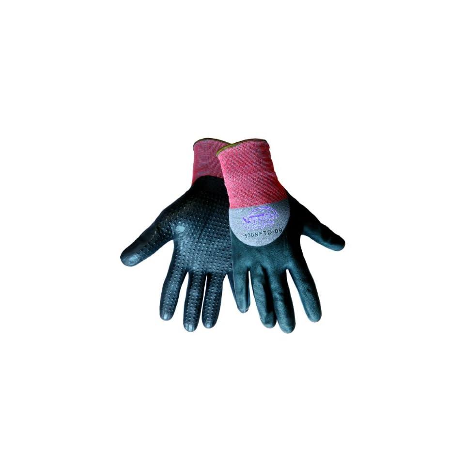 Global Glove 530NFTD Tsunami Grip New Foam Technology Nitrile Glove, Work, Small (Case of 72)