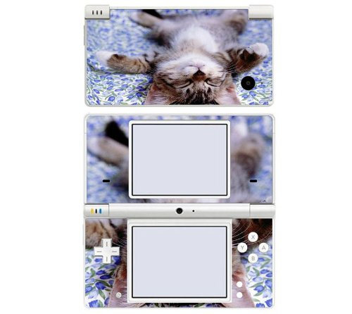 Cute Kitty Cat Decorative Protector Skin Decal Sticker for Nintendo DSi