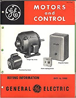 1952 general electric motors and control buying for Ge electric motors catalog