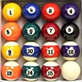 Pool Table Billiard Ball Set by Felson Billiard Supply