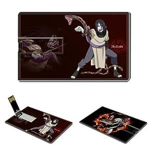 Naruto Orochimaru Anime Comic Games ACG Customized USB Flash Drive 8GB