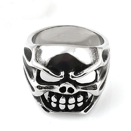 mens-316l-stainless-steel-personalized-mouth-skull-ring-silver-size-x-1-2