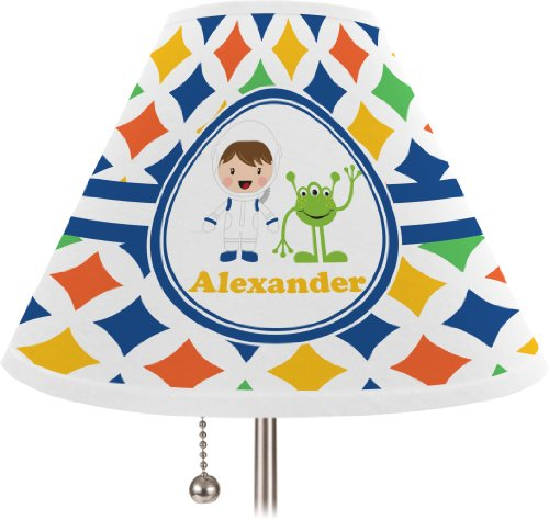 Boy'S Astronaut Personalized Lamp Shade - Empire Shade front-321403
